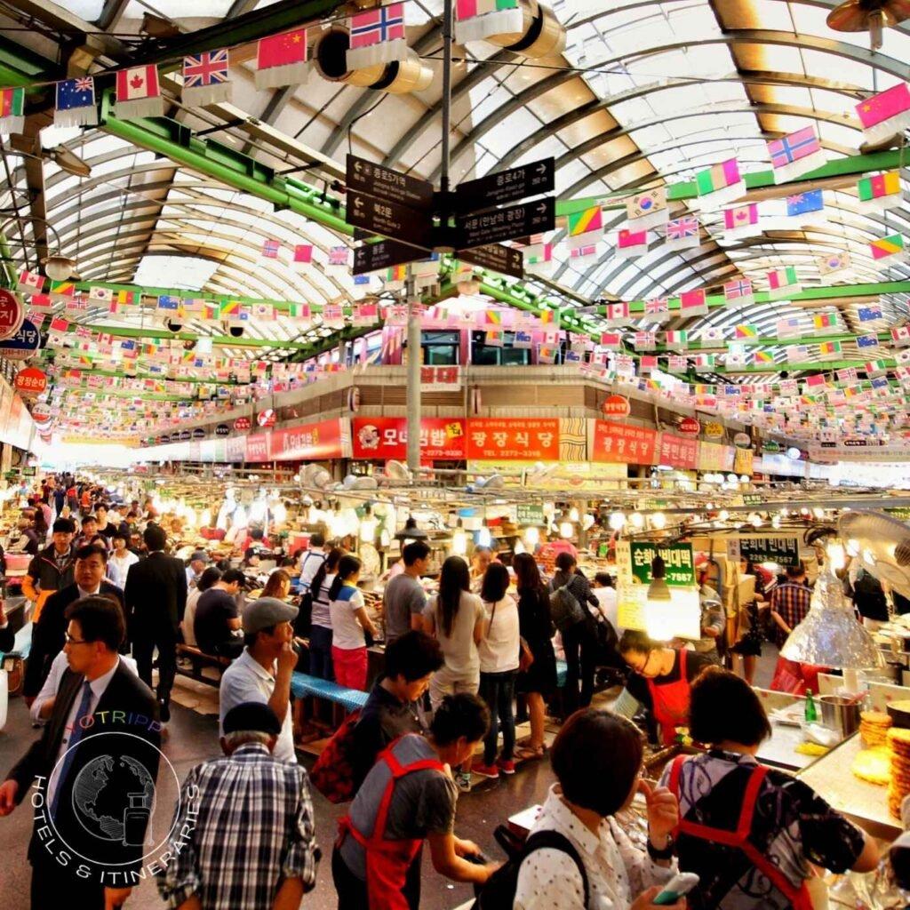 Gwangjang Market: Seoul's Iconic Street Food Market