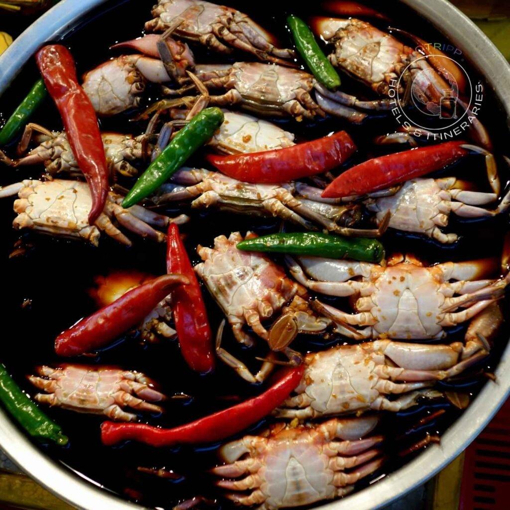Soy-Marinated Crabs, Gejang at Gwangjang Market